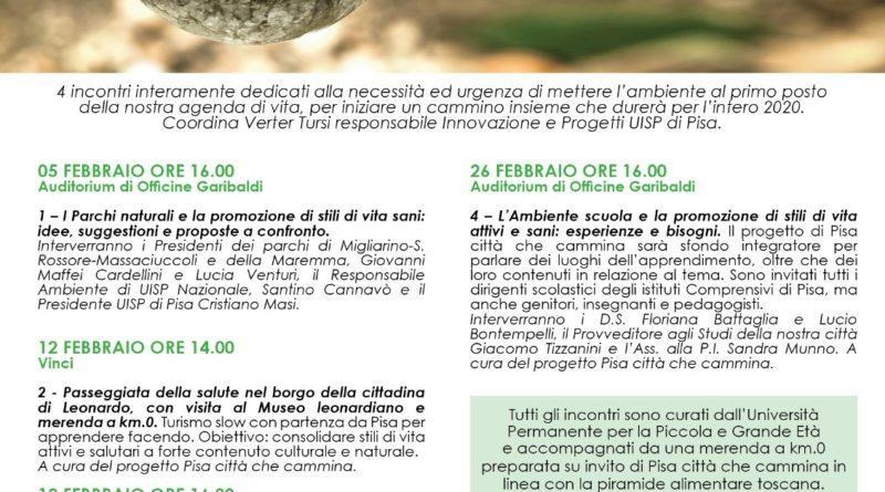 Ambiente e buona salute in 4 appuntamenti con Pisa Città che Cammina